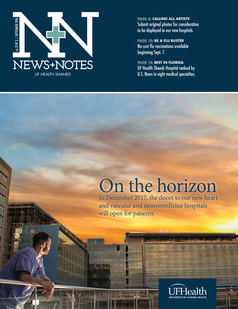Cover for September 2016 Issue