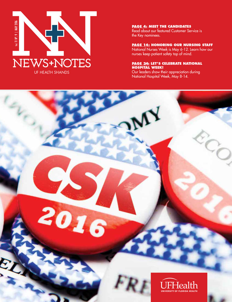 Cover for May 2016 Issue