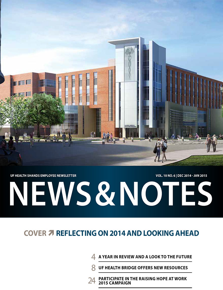 Cover for December/January 2014-15 Issue