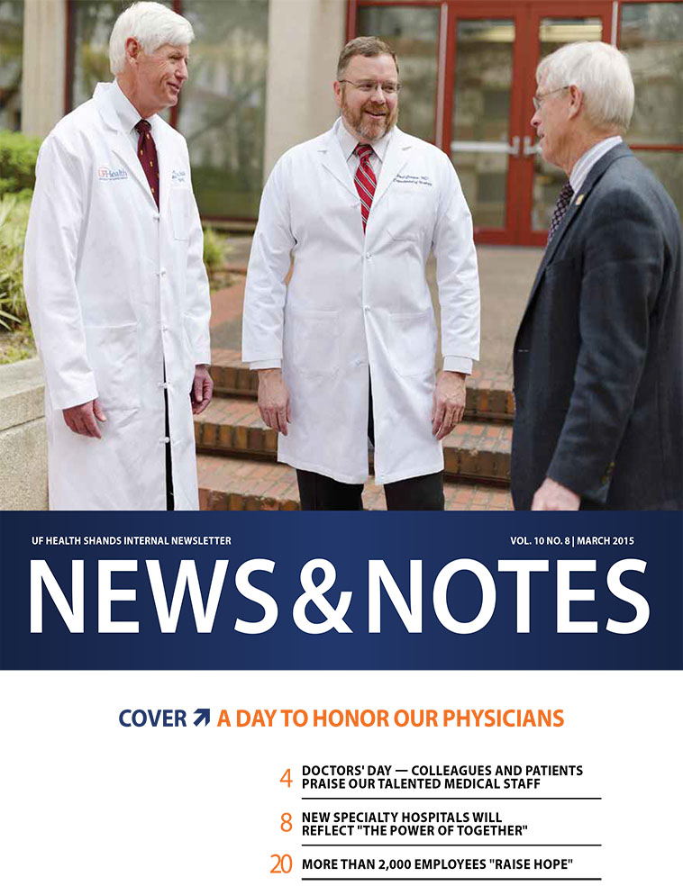 Cover for March 2015 Issue