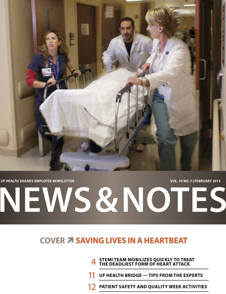 Cover for February 2015 Issue