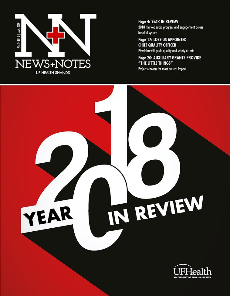 Cover for January 2019 Issue